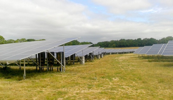 Multiple solar panels near Cambridge cleaned and ready to work at full capacity